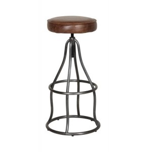 Additions Dining Room Furniture Thurlow Brown Aniline Leather Bar Stool