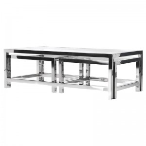 Clearance Coach House Terano Range Set of 3 Coffee Tables BLS046
