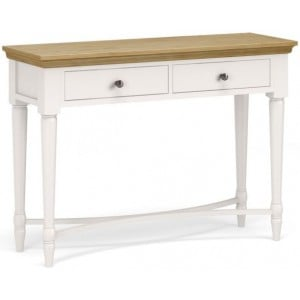 Corndell Annecy Smoke Grey Painted Console Table