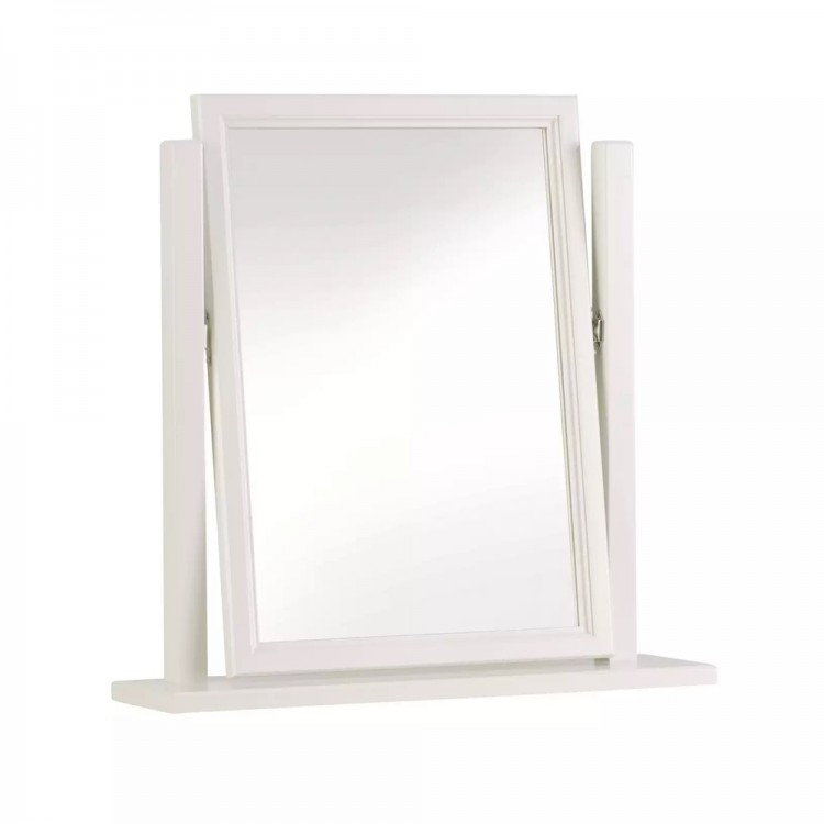 Corndell Annecy White Painted Furniture Vanity Mirror