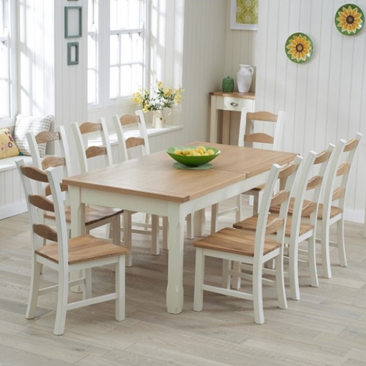 Extra Large Painted Dining Sets