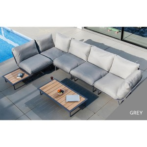 Alexander Rose Beach Garden Flint Large Corner Sofa Lounge Set