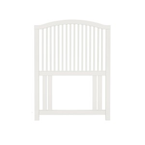 Ashby White Painted Furniture Single Slatted Headboard 3ft