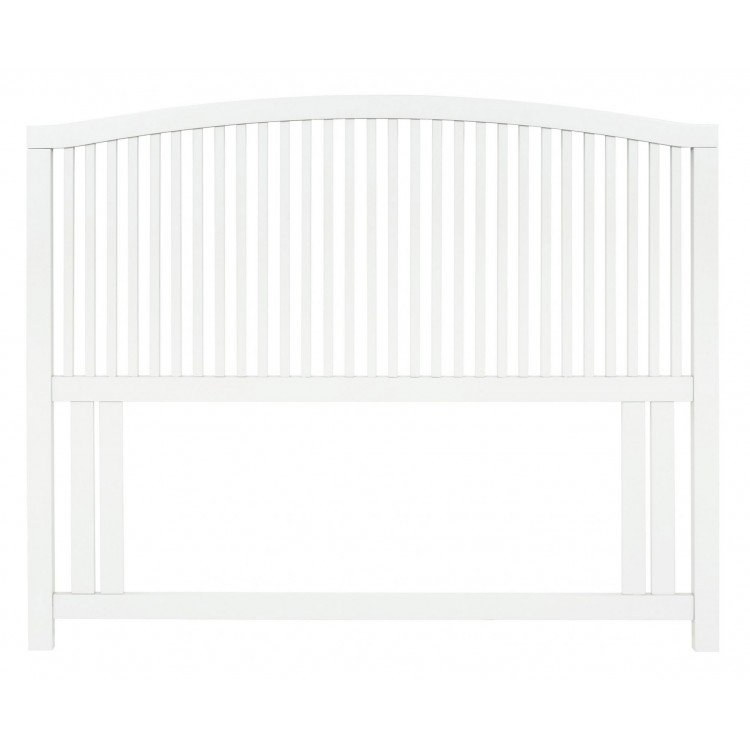 Ashby White Painted Furniture Slatted Headboard 4ft