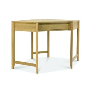 Bentley Designs Bergen Oak Corner Desk