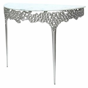 Apollo Metal Honeycomb Console Table