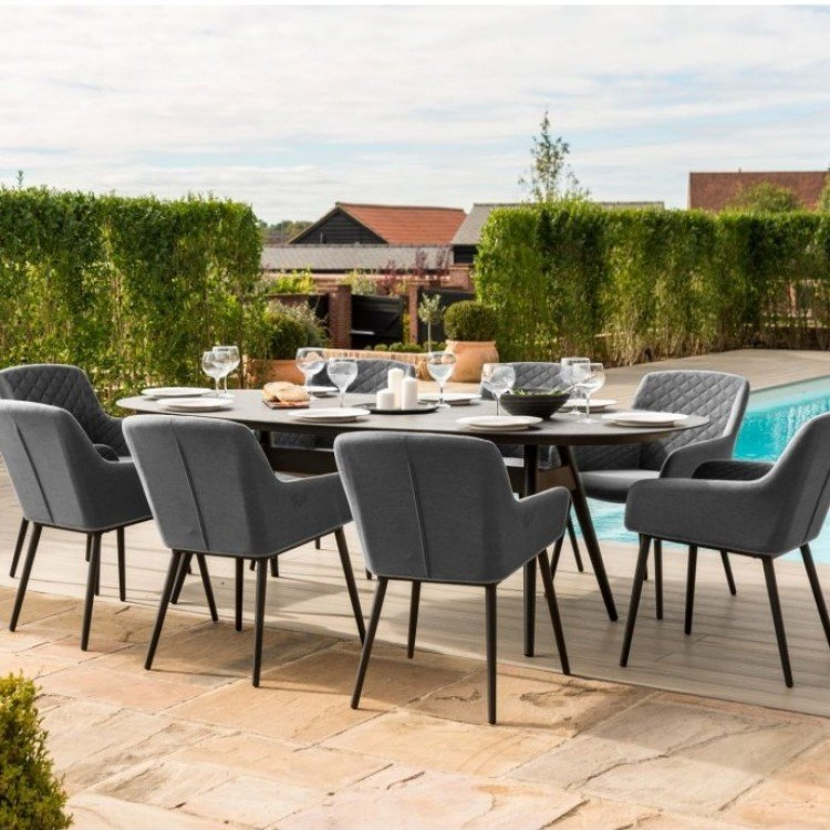 Fabric 8 Seater Dining Sets