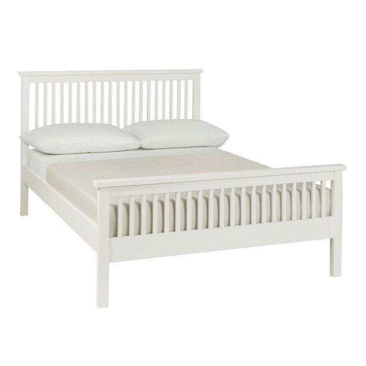 Atlanta White Painted Furniture King Size 5ft Bed