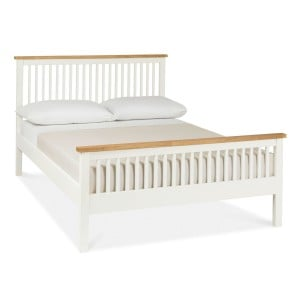Atlanta Two Tone Painted Furniture King Size 5ft Bed