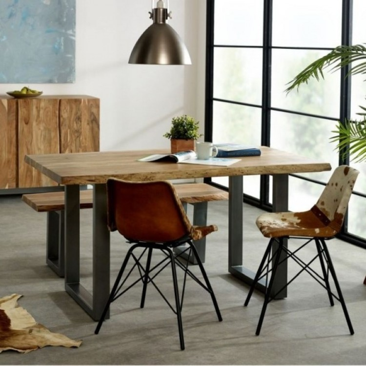 Indian Hub Acacia Baltic Live Edge Furniture Range
