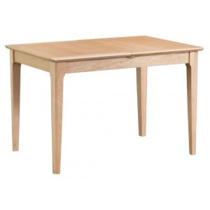 Bergen Oak Furniture 1.2m Butterfly Extending Table