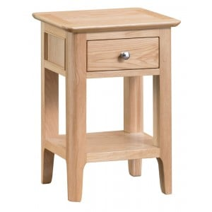 Bergen Oak Furniture Side Table