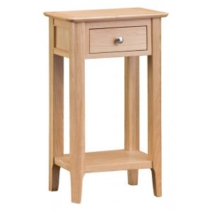 Bergen Oak Furniture Telephone Table