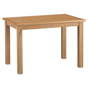 Stirling Oak Furniture Large Fixed Top Table