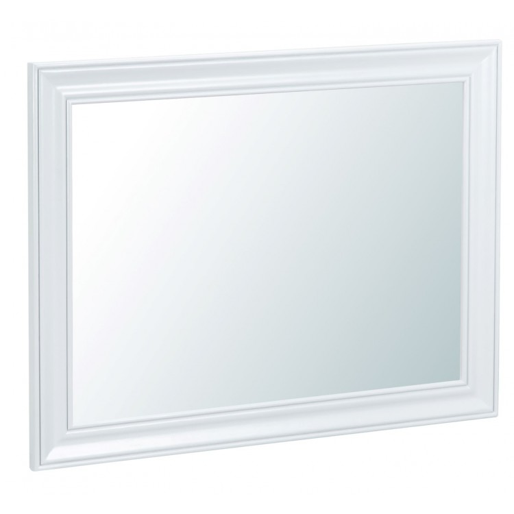 Tenby White Painted Furniture Large Wall Mirror