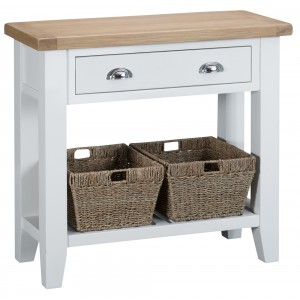 Tenby White Painted Furniture Console Table