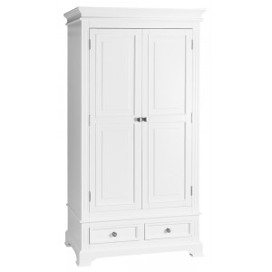 Windsor Elegance French Painted Furniture Double Wardrobe