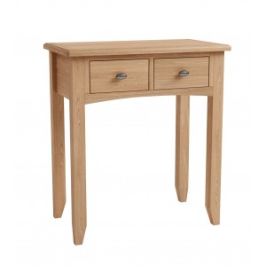 Exeter Light Oak Furniture Dressing Table