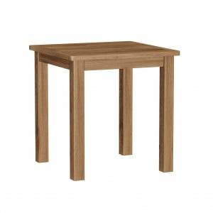 Buxton Rustic Oak Furniture Fixed Top Dining Table