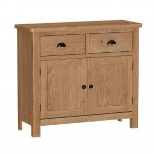 Buxton Rustic Oak Furniture Medium Sideboard