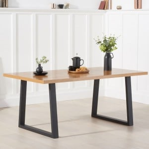 Mark Harris Industrial Furniture Una Dining Table 180cm