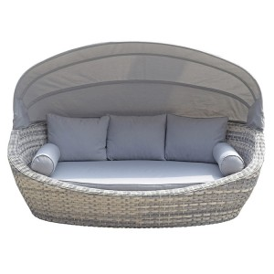 Signature Weave Constance Daybed With Canopy