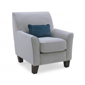 Vida Living Furniture Cantrell Teal Fabric Accent Chair