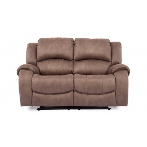 Vida Living Darwin Biscuit 2 Seater Recliner Sofa