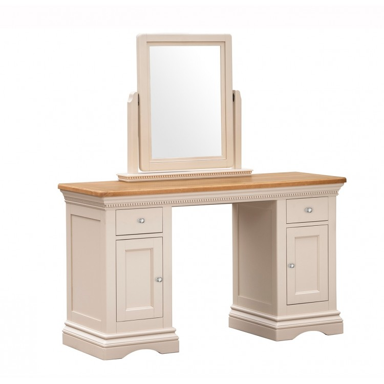Vida Living Winchester Oak & Painted Furniture Dressing Table Only