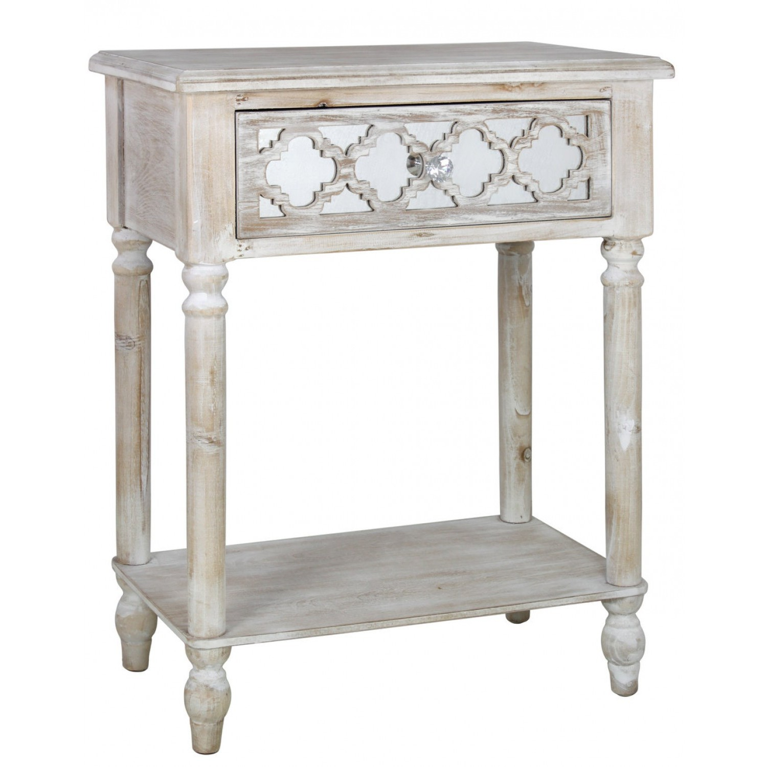 Long Island Beach Washed Ash Living Room 1 Drawer End
