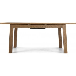 Alpha Oak Furniture Extended Dining Table