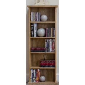 Opus Solid Oak Furniture CD&DVD Tower Rack