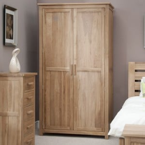 Opus Solid Oak Furniture Ladies Wardrobe