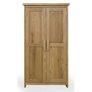 Opus Solid Oak Furniture CD/DVD Storage Cupboard