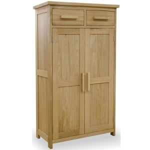 Opus Solid Oak Furniture Shoe Cupboard