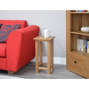 Lyon Oak Living Room Furniture Occasional Table