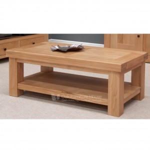 Bordeaux Solid Oak Furniture Coffee Table - PRE-ORDER