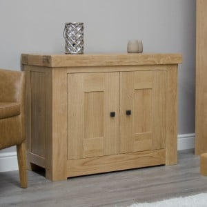 Bordeaux Solid Oak Furniture Occasional Cupboard