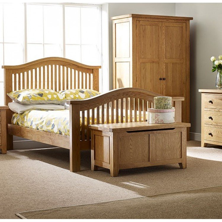 Canterbury Wax Oak Furniture Range