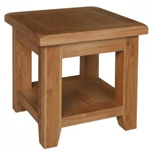 Sussex Oak Furniture Lamp Table