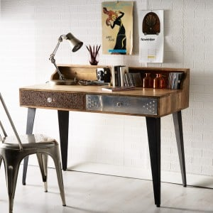 Sorio Reclaimed Furniture Console Table / Writing Desk