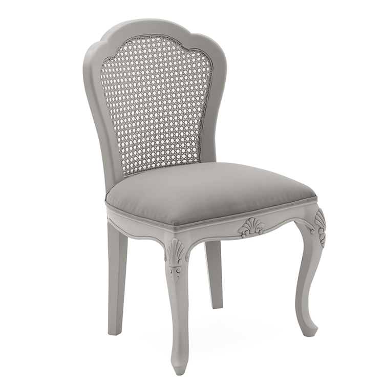 Vida Living Camille Grey Dressing Chair