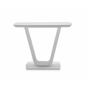 Vida Living Lazzaro Furniture White Gloss Console Table