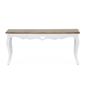 Vida Living Maeve White Painted Furniture Coffee Table