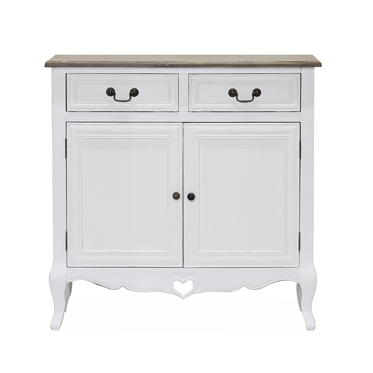 Vida Living Maeve White Painted Furniture Sideboard