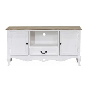 Vida Living Maeve White Painted Furniture TV Cabinet