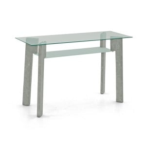 Vida Living Odense Marble & Glass Console Table