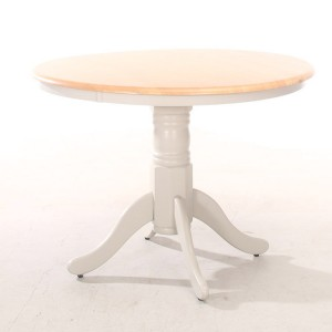 Vida Living Riina Two-Tone Painted 106cm Round Dining Table
