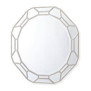 Vida Living Rosa Mirrored Furniture Round Wall Mirror