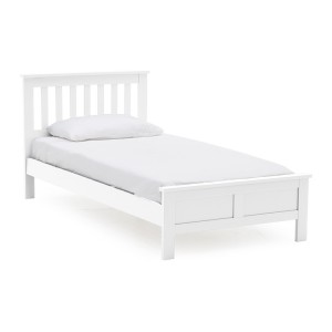 Vida Living Willow White Painted Furniture Single 3ft Bed